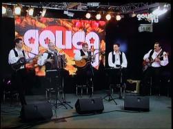 Ansambel Tonija Verderberja v živo na Golica TV